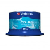 DYSK VERBATIM CD-R 700MB 52X DATA LIFE CAKE BOX 50