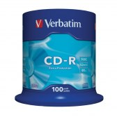 DYSK VERBATIM CD-R 700MB 52X DATA LIFE CAKE BOX 100
