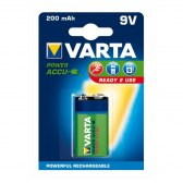 AKUMULATORY VARTA Hi-voltage 9V 200 mAh 1szt ready 2 use