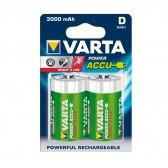 AKUMULATORY VARTA R20 (typD) 3000 mAh 2szt ready 2 use