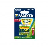 AKUMULATORY VARTA R3 1000 mAh 4szt ready 2 use