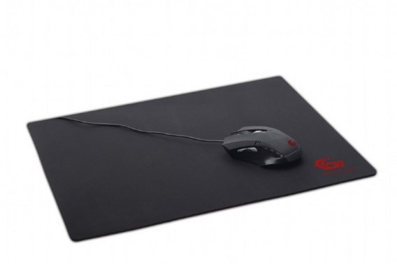 MOUSEPAD GAMING MP-GAME-L 400x450mm czarna